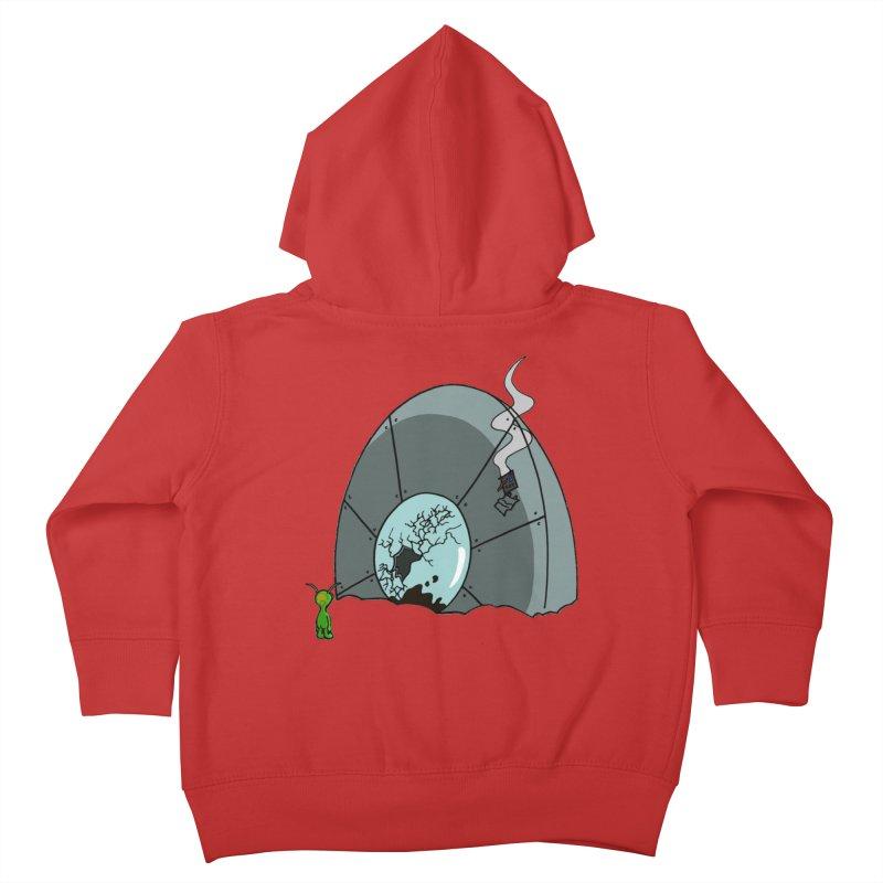 In Gratitude EP Alien Kids Toddler Zip-Up Hoody by Cloud Tapes's Artist Shop
