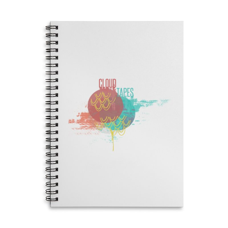 2018 Logo Accessories Notebook by Cloud Tapes's Artist Shop