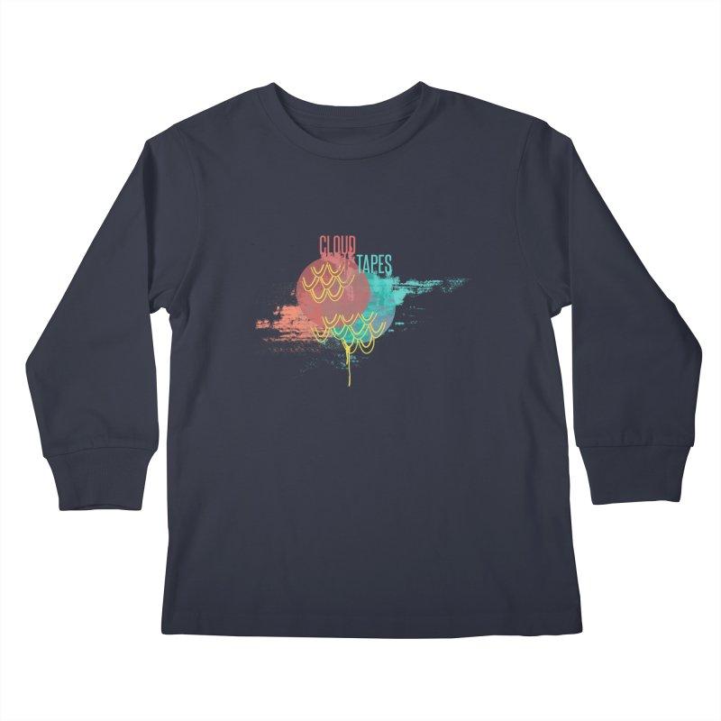 2018 Black Logo Kids Longsleeve T-Shirt by Cloud Tapes's Artist Shop