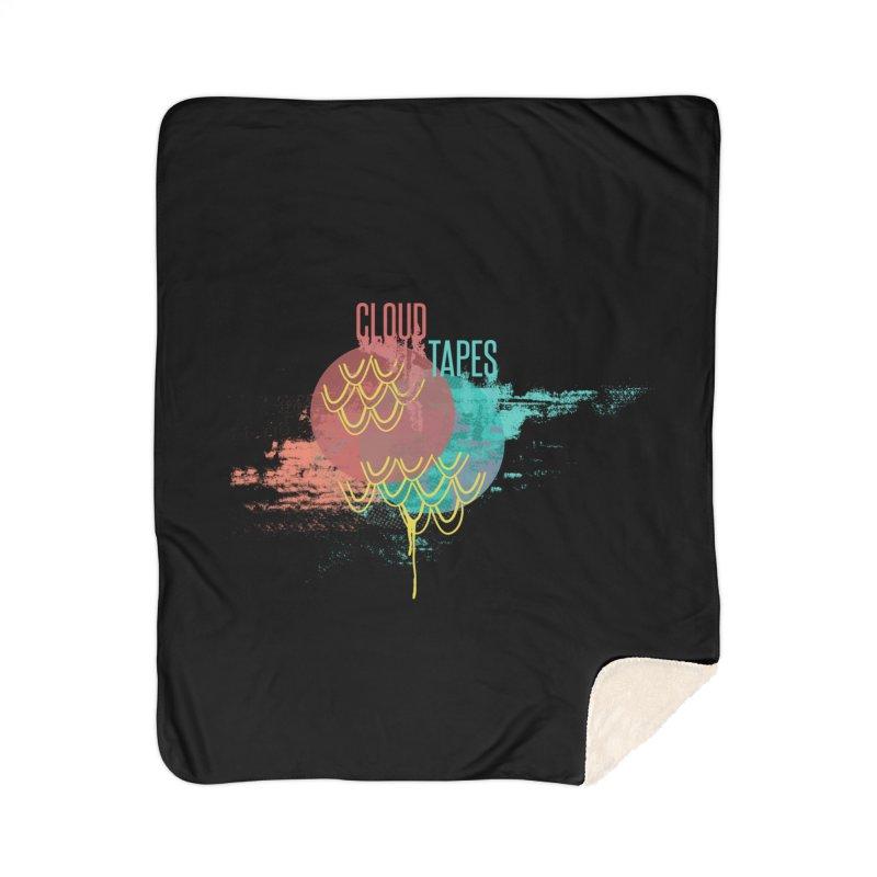 2018 Black Logo Home Blanket by Cloud Tapes's Artist Shop