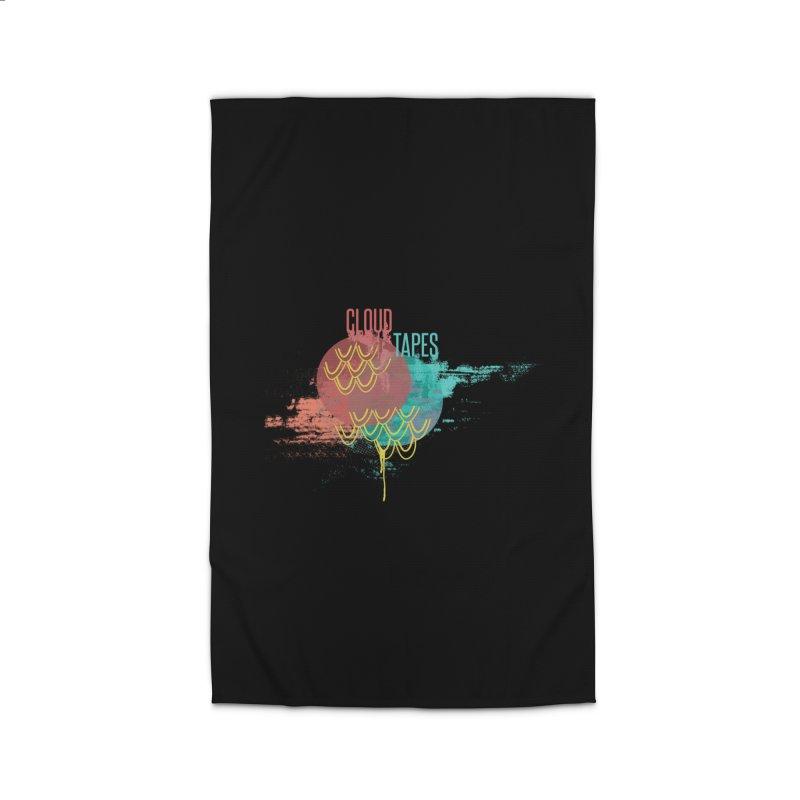 2018 Black Logo Home Rug by Cloud Tapes's Artist Shop