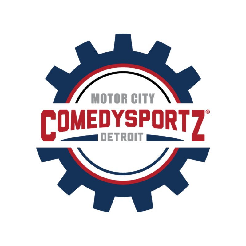 ComedySportz Color Logo Men's T-Shirt by ComedySportz Detroit Merch