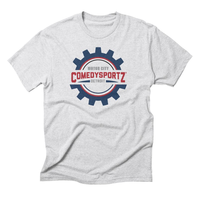ComedySportz Color Logo Men's Triblend T-Shirt by ComedySportz Detroit Merch