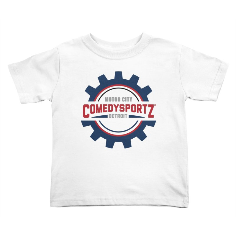 ComedySportz Color Logo Kids Toddler T-Shirt by ComedySportz Detroit Merch