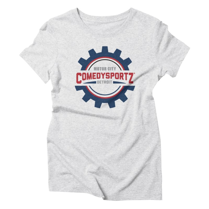 ComedySportz Color Logo Women's T-Shirt by ComedySportz Detroit Merch