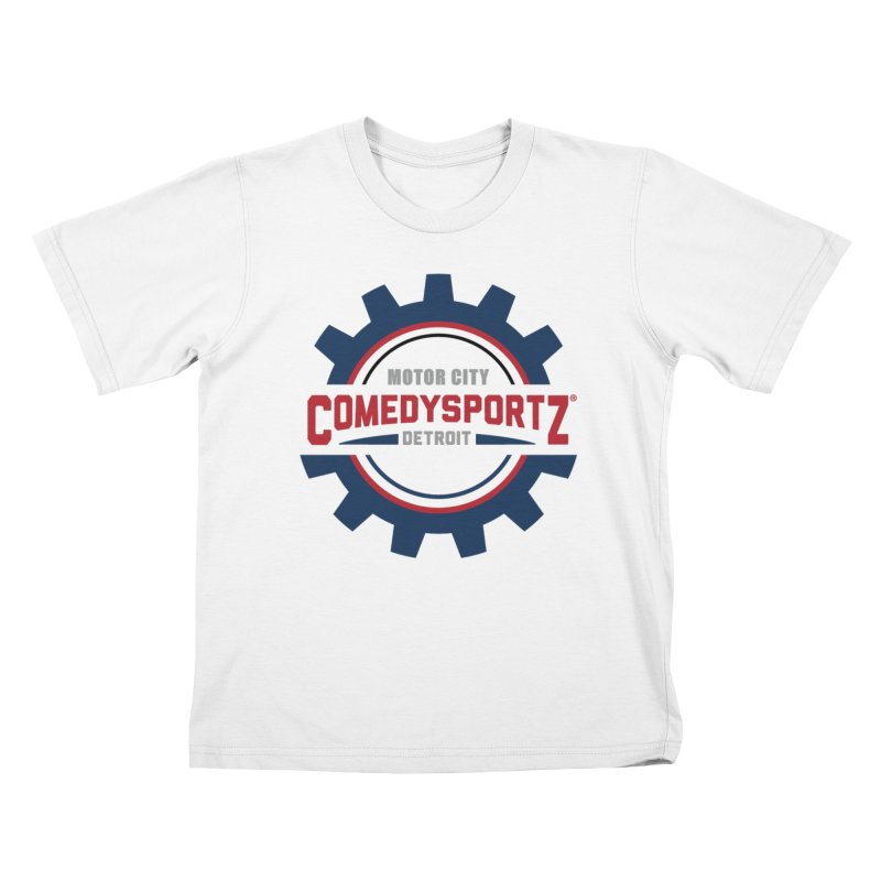 ComedySportz Color Logo Kids T-Shirt by ComedySportz Detroit Merch