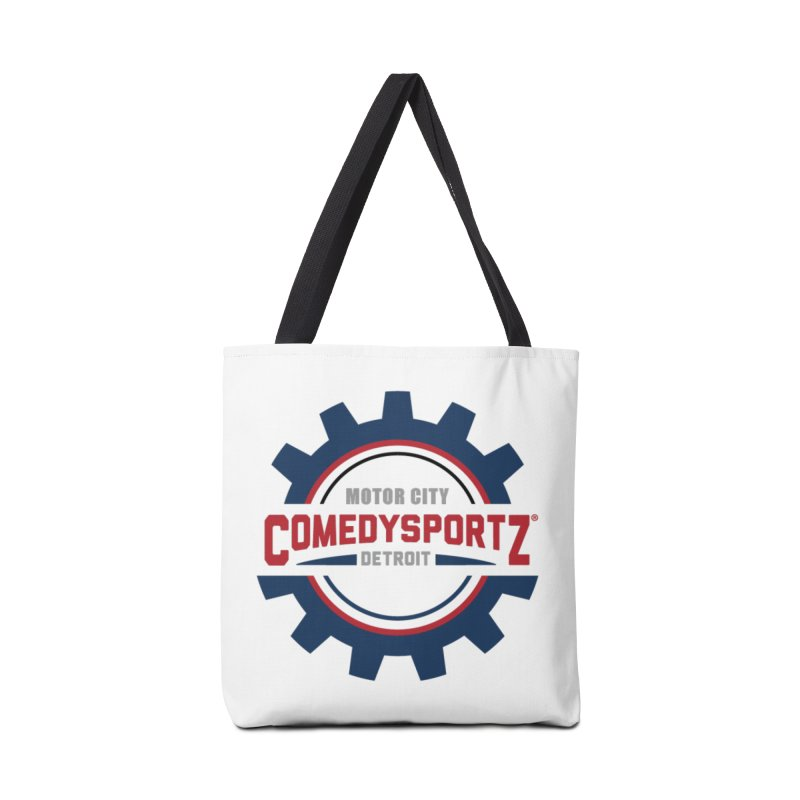 ComedySportz Color Logo Accessories Tote Bag Bag by ComedySportz Detroit Merch