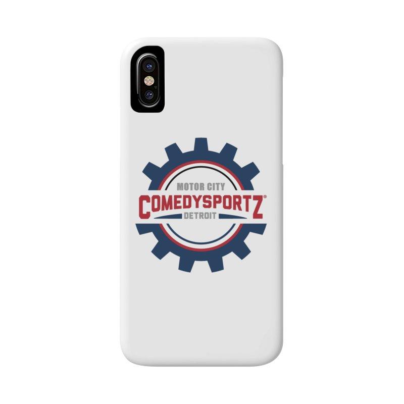 ComedySportz Color Logo Accessories Phone Case by ComedySportz Detroit Merch
