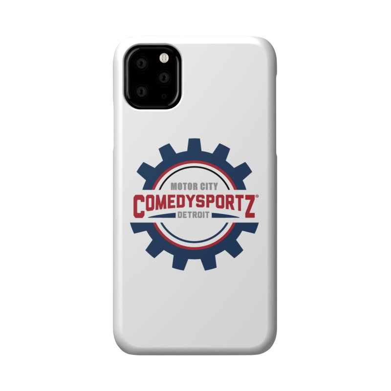 ComedySportz Color Logo Accessories Phone Case by ComedySportz Detroit Merch
