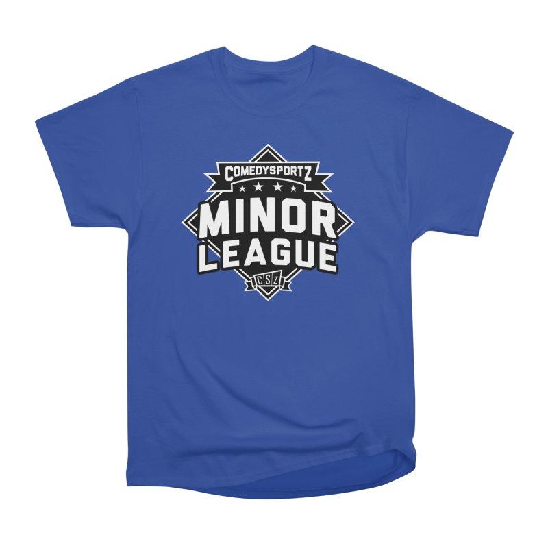Minor League Men's T-Shirt by ComedySportz Detroit Merch
