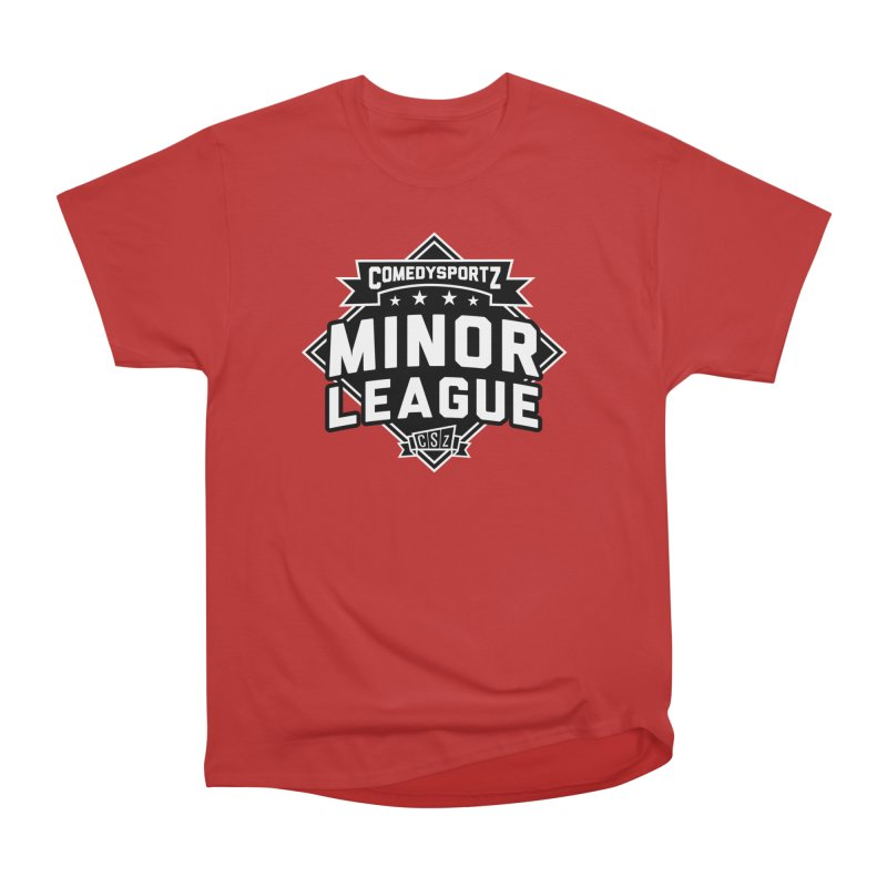 Minor League Men's Heavyweight T-Shirt by ComedySportz Detroit Merch