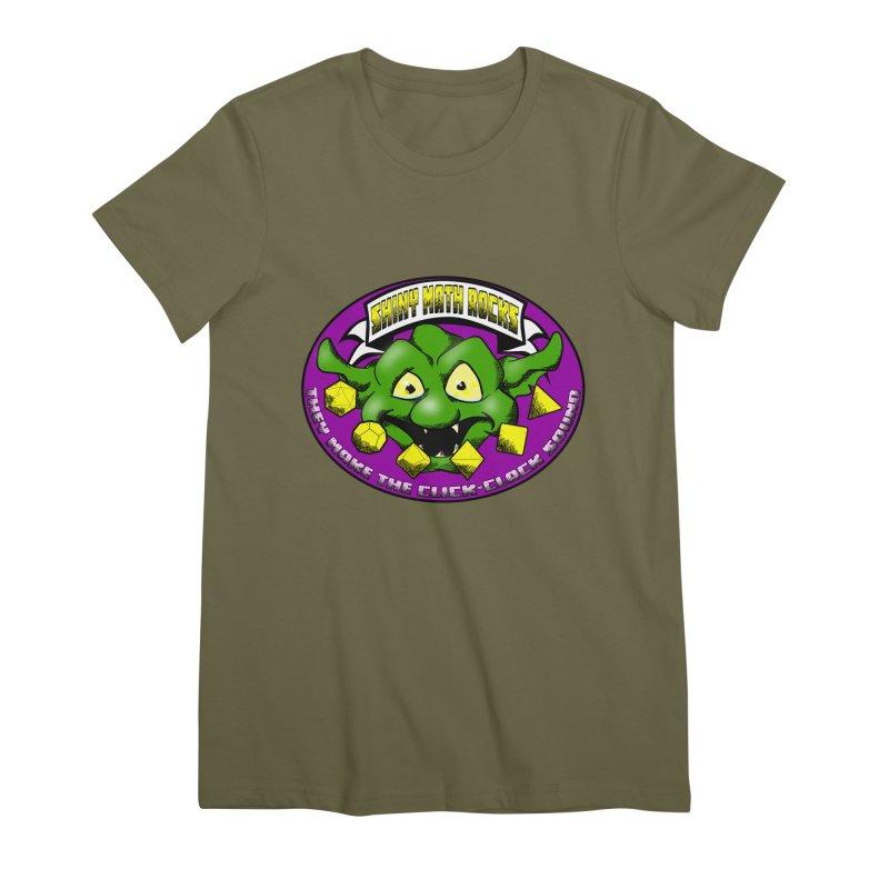 Shiny Math Rocks Women's Premium T-Shirt by Comedyrockgeek 's Artist Shop
