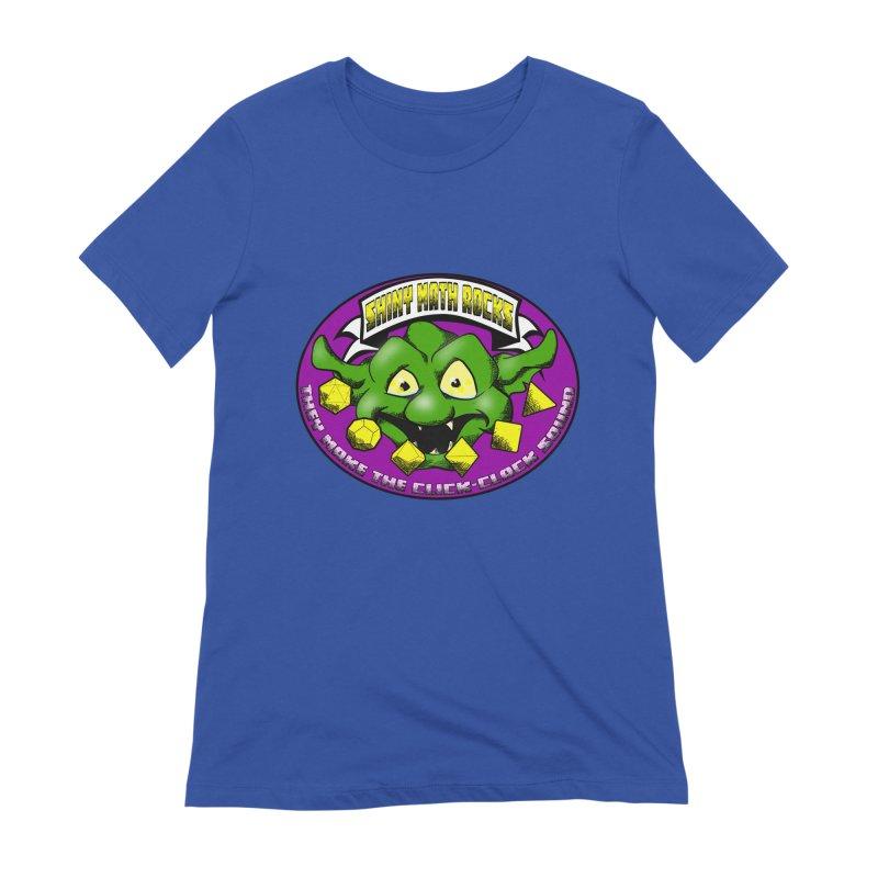Shiny Math Rocks Women's Extra Soft T-Shirt by Comedyrockgeek 's Artist Shop