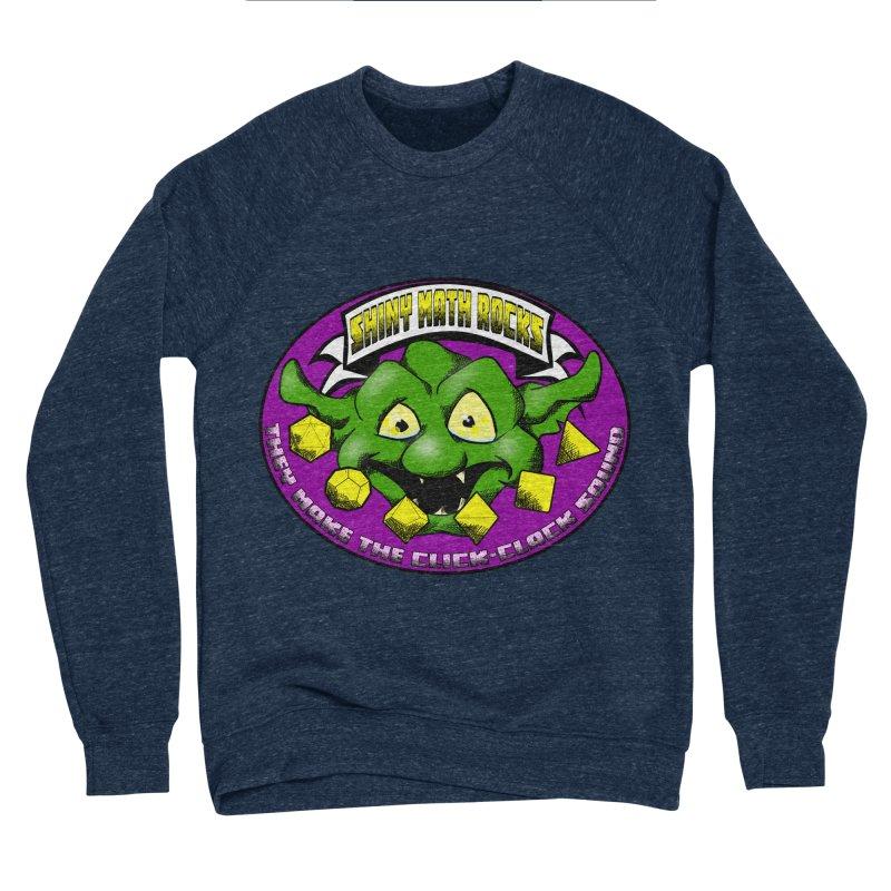 Shiny Math Rocks Men's Sponge Fleece Sweatshirt by Comedyrockgeek 's Artist Shop
