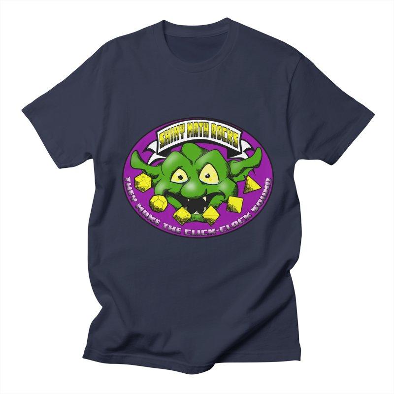 Shiny Math Rocks Men's Regular T-Shirt by Comedyrockgeek 's Artist Shop