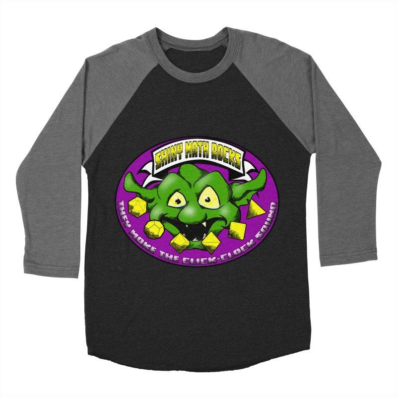 Shiny Math Rocks Women's Baseball Triblend Longsleeve T-Shirt by Comedyrockgeek 's Artist Shop