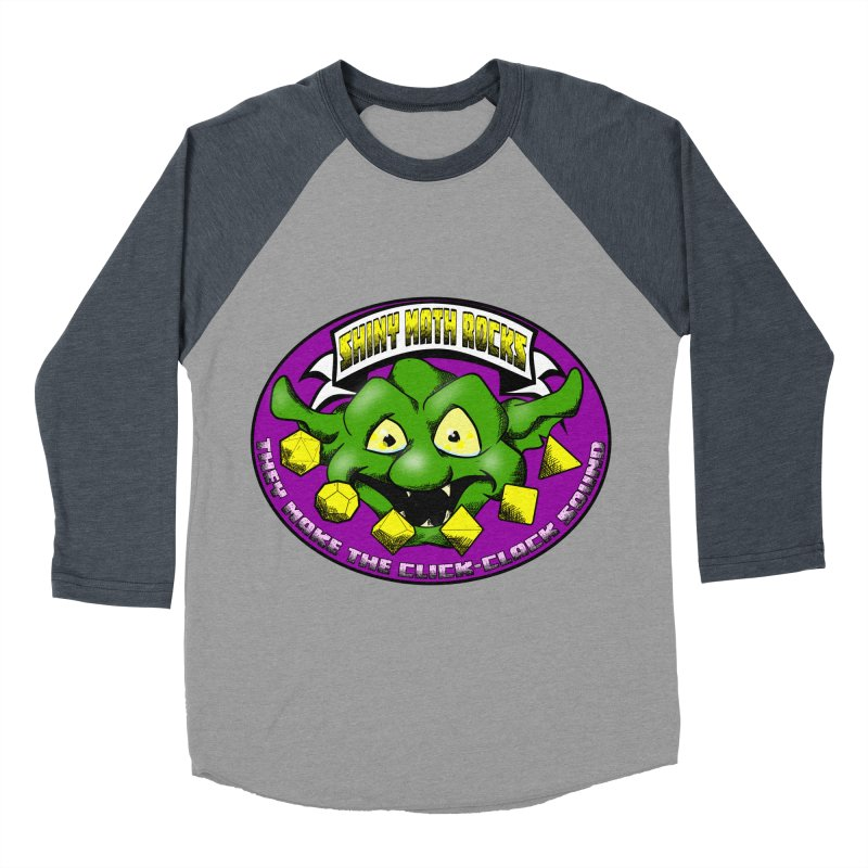 Shiny Math Rocks Men's Baseball Triblend Longsleeve T-Shirt by Comedyrockgeek 's Artist Shop