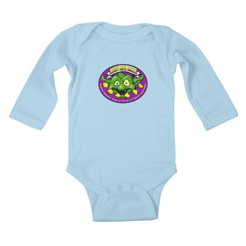 Shiny Math Rocks Kids Baby Longsleeve Bodysuit by Comedyrockgeek 's Artist Shop