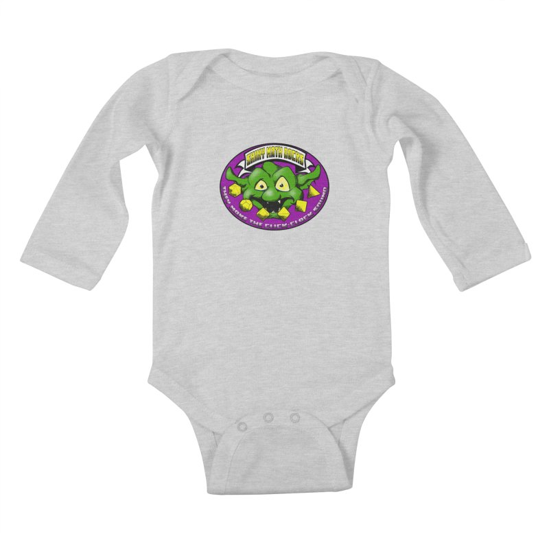 Shiny Math Rocks Kids Baby Longsleeve Bodysuit by Comedyrockgeek 's Artist Shop