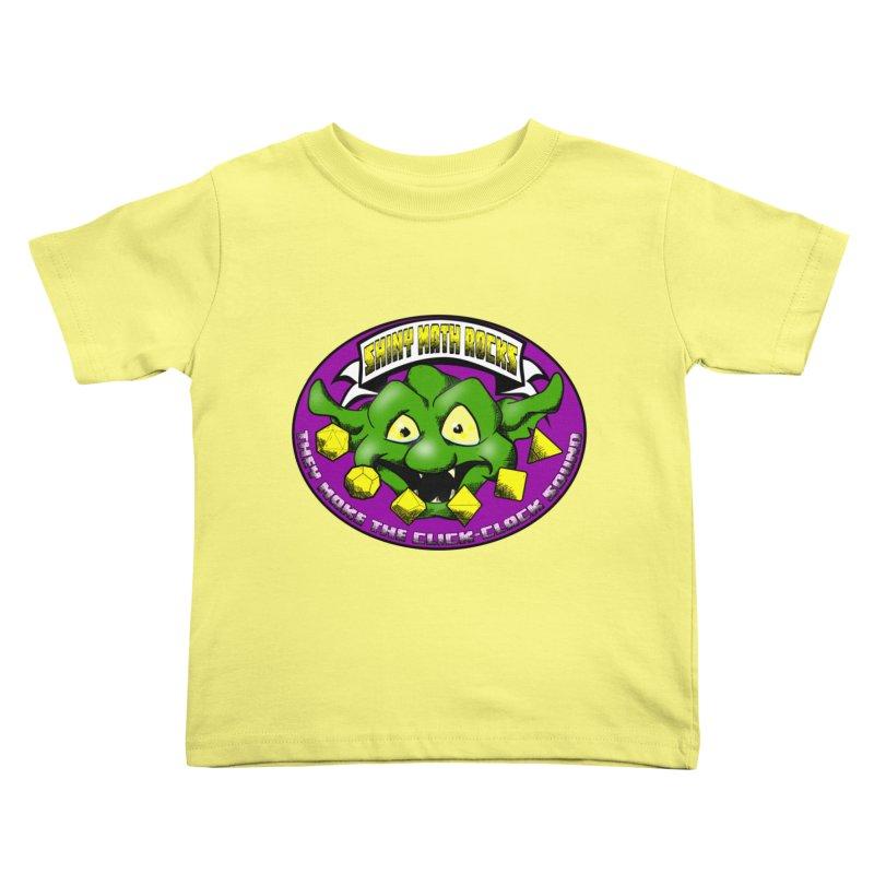 Shiny Math Rocks Kids Toddler T-Shirt by Comedyrockgeek 's Artist Shop