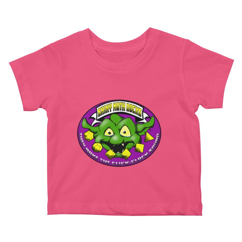 Shiny Math Rocks Kids Baby T-Shirt by Comedyrockgeek 's Artist Shop