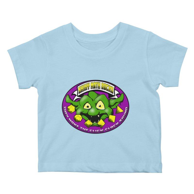 Shiny Math Rocks Kids Baby T-Shirt by Comedyrockgeek 's Artist Shop