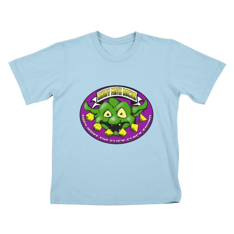Shiny Math Rocks Kids T-Shirt by Comedyrockgeek 's Artist Shop