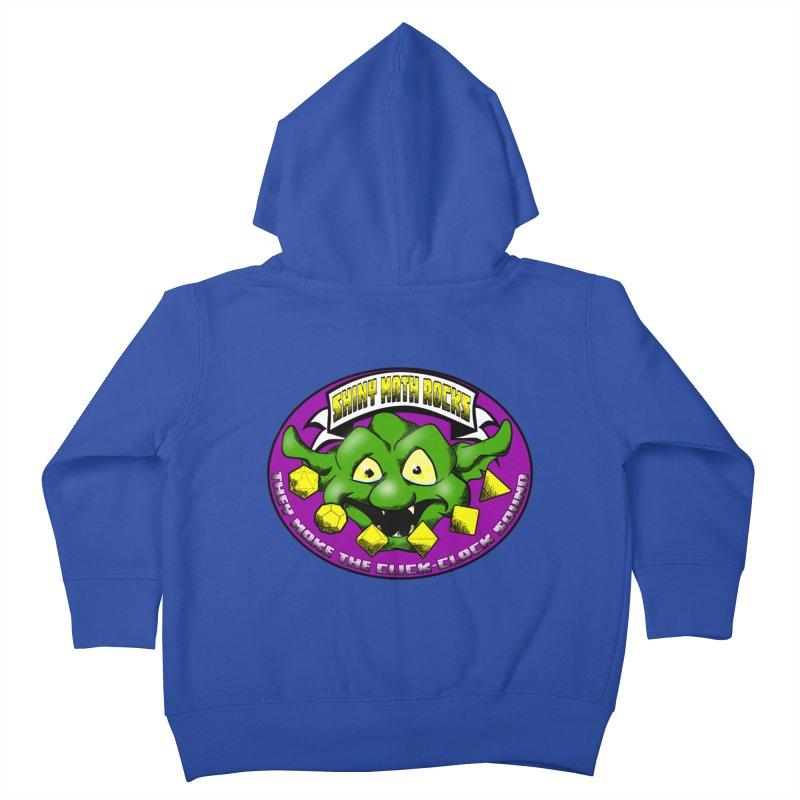 Shiny Math Rocks Kids Toddler Zip-Up Hoody by Comedyrockgeek 's Artist Shop