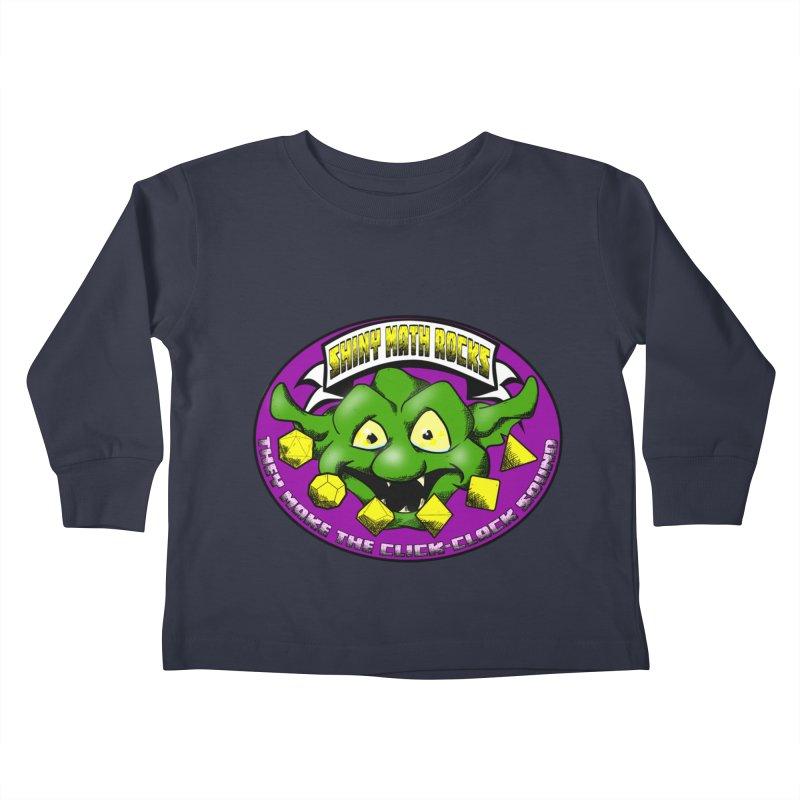 Shiny Math Rocks Kids Toddler Longsleeve T-Shirt by Comedyrockgeek 's Artist Shop