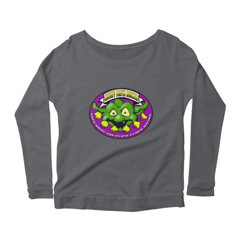 Shiny Math Rocks Women's Scoop Neck Longsleeve T-Shirt by Comedyrockgeek 's Artist Shop