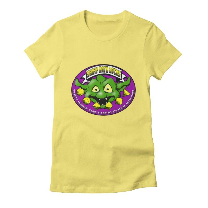 Shiny Math Rocks Women's Fitted T-Shirt by Comedyrockgeek 's Artist Shop
