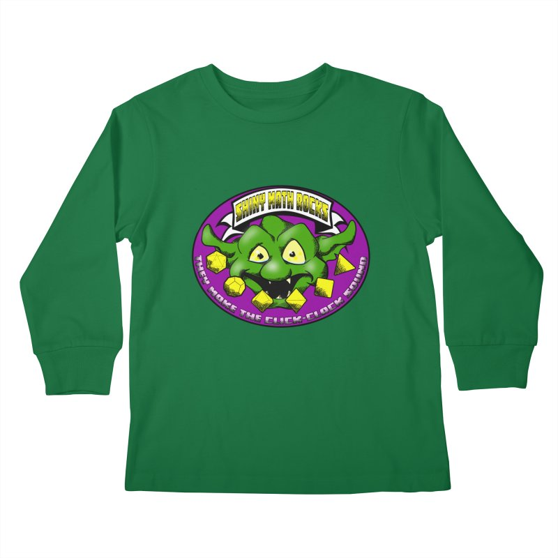 Shiny Math Rocks Kids Longsleeve T-Shirt by Comedyrockgeek 's Artist Shop
