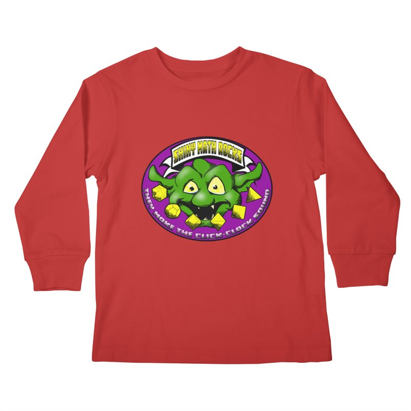 Shiny Math Rocks Kids Longsleeve T-Shirt by Comedyrockgeek 's Artist Shop