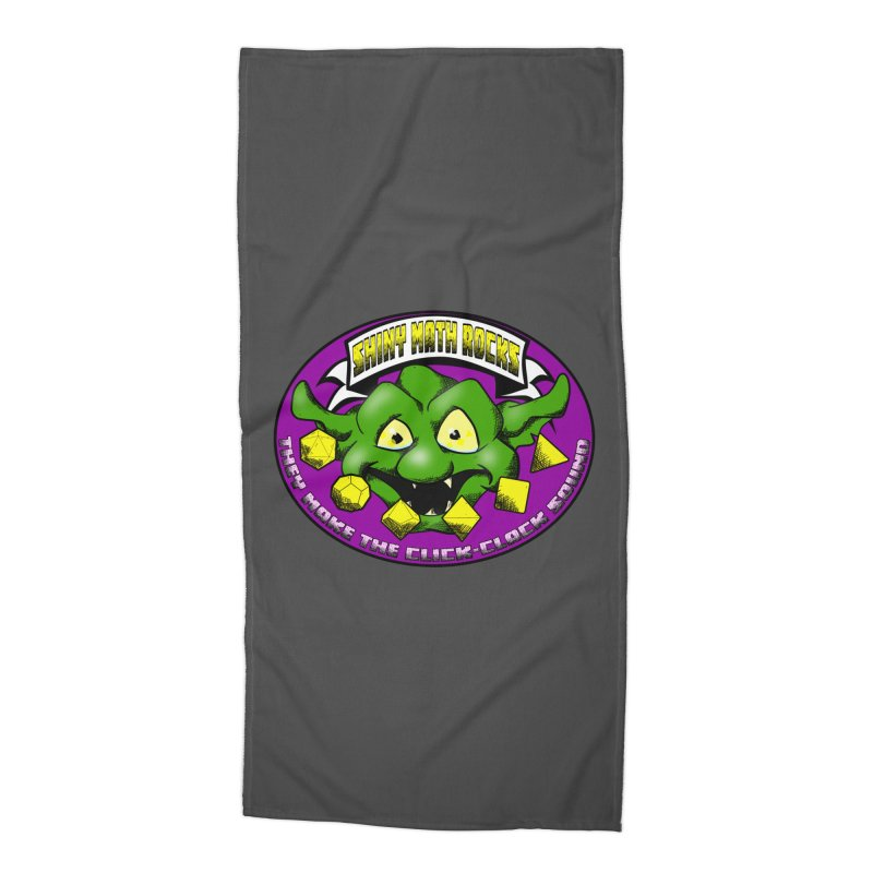 Shiny Math Rocks Accessories Beach Towel by Comedyrockgeek 's Artist Shop