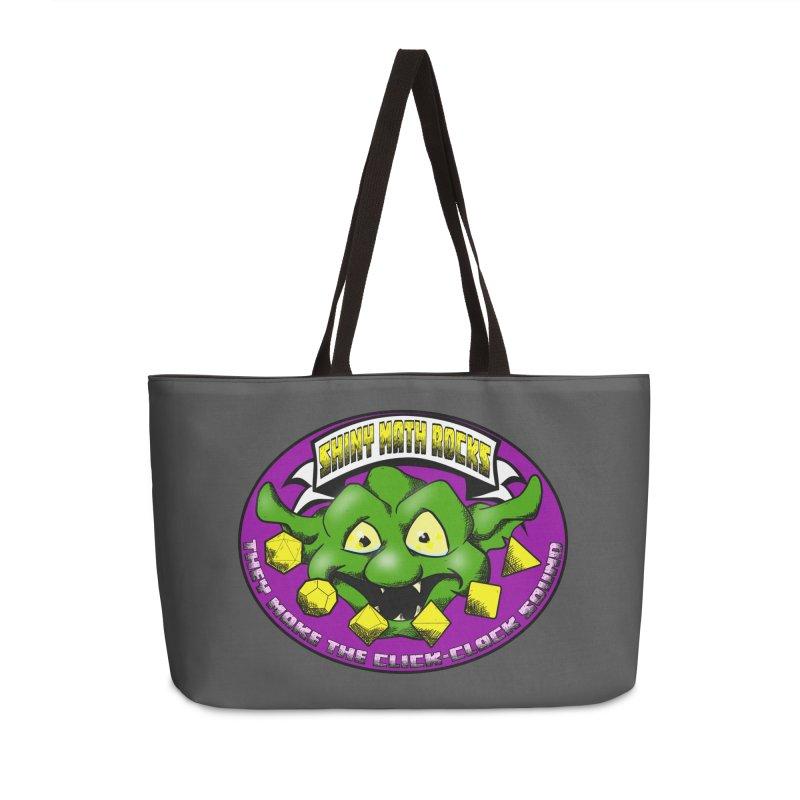 Shiny Math Rocks Accessories Weekender Bag Bag by Comedyrockgeek 's Artist Shop