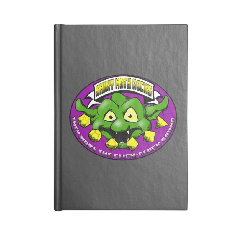 Shiny Math Rocks Accessories Lined Journal Notebook by Comedyrockgeek 's Artist Shop