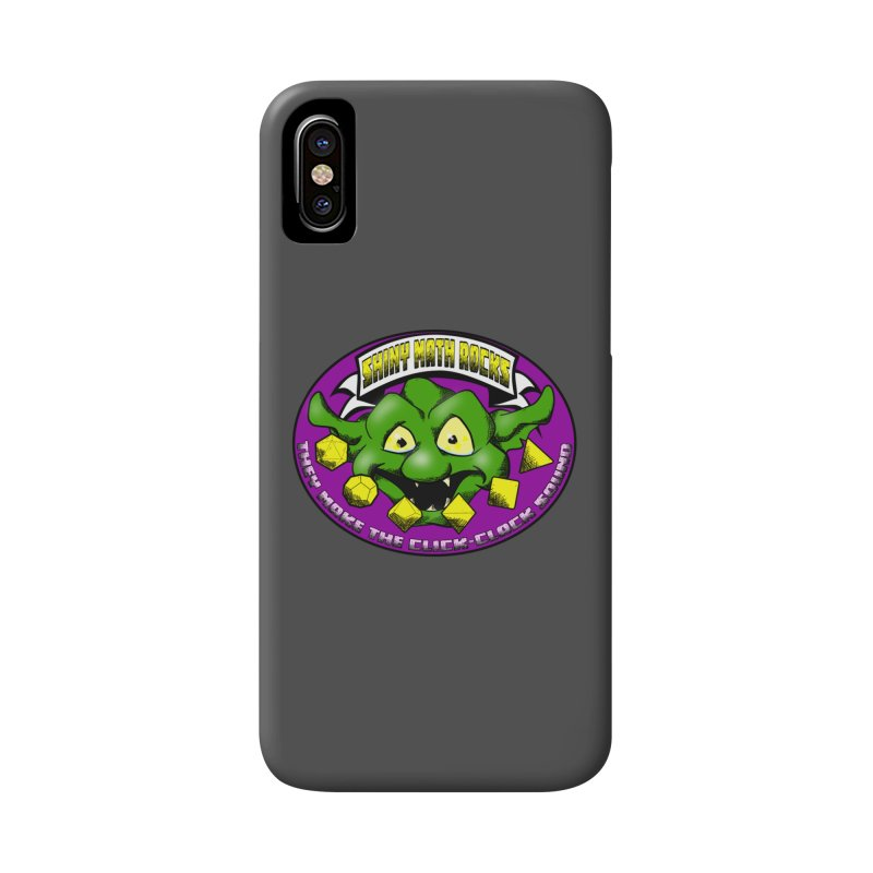 Shiny Math Rocks Accessories Phone Case by Comedyrockgeek 's Artist Shop