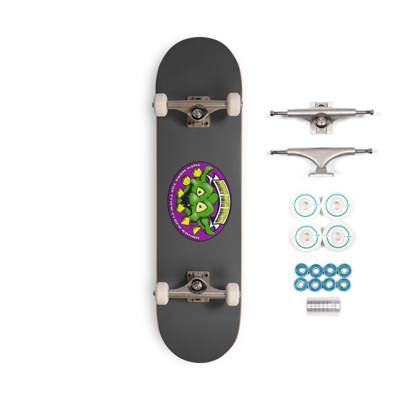 Shiny Math Rocks Accessories Complete - Basic Skateboard by Comedyrockgeek 's Artist Shop