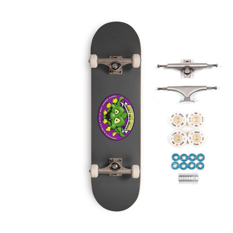 Shiny Math Rocks Accessories Complete - Premium Skateboard by Comedyrockgeek 's Artist Shop
