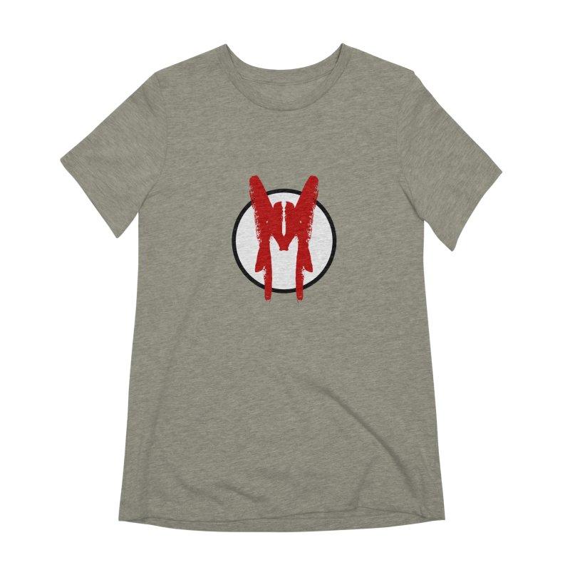 M Symbol Women's Extra Soft T-Shirt by Comedyrockgeek 's Artist Shop