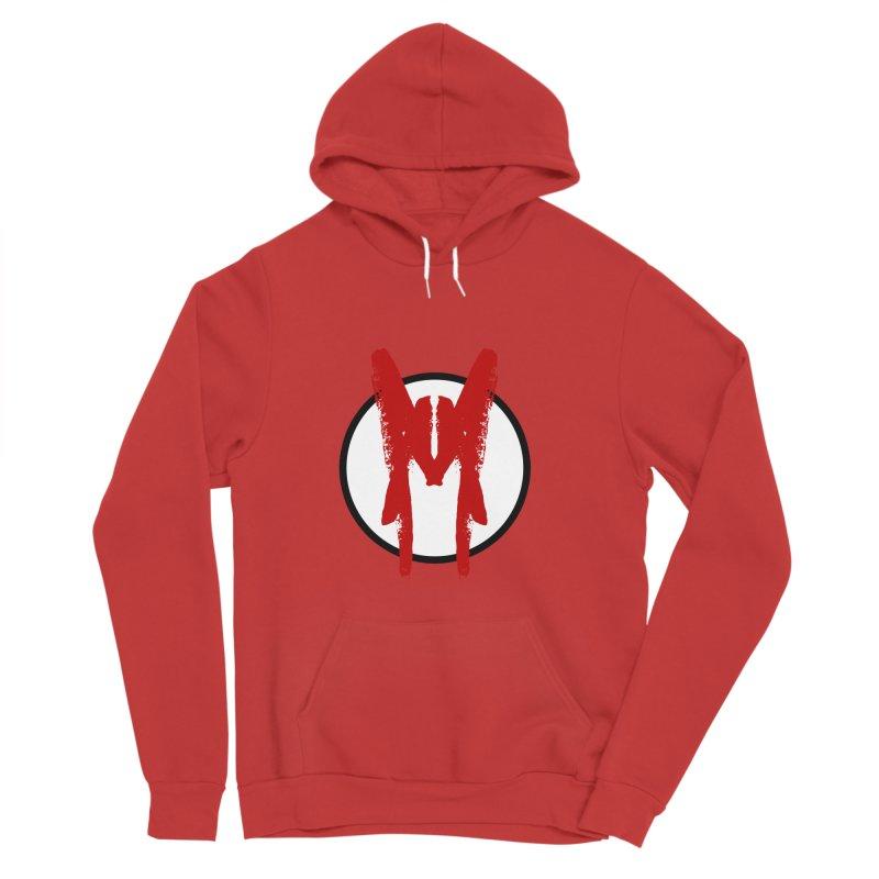 M Symbol Men's Sponge Fleece Pullover Hoody by Comedyrockgeek 's Artist Shop