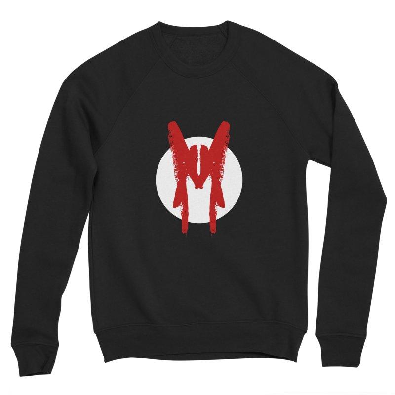M Symbol Women's Sponge Fleece Sweatshirt by Comedyrockgeek 's Artist Shop