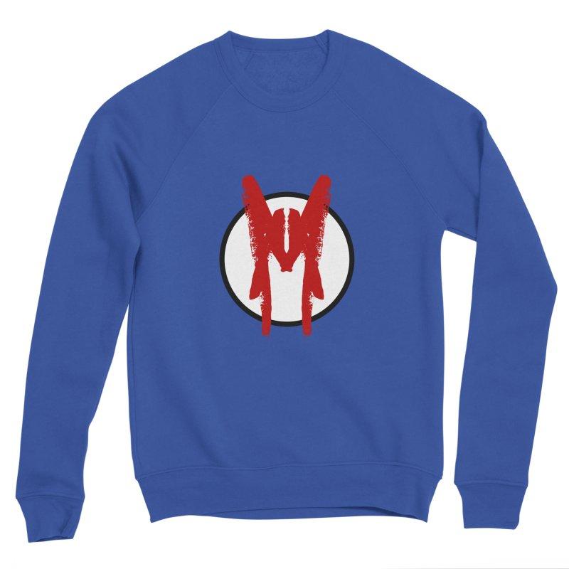 M Symbol Men's Sponge Fleece Sweatshirt by Comedyrockgeek 's Artist Shop