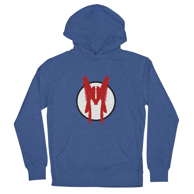M Symbol Women's French Terry Pullover Hoody by Comedyrockgeek 's Artist Shop