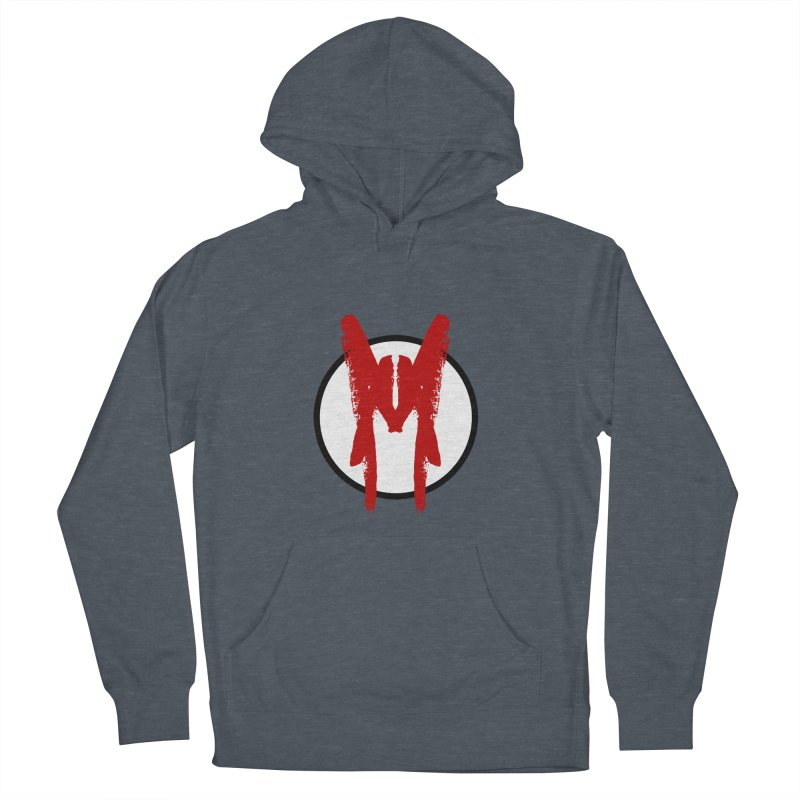 M Symbol Men's French Terry Pullover Hoody by Comedyrockgeek 's Artist Shop