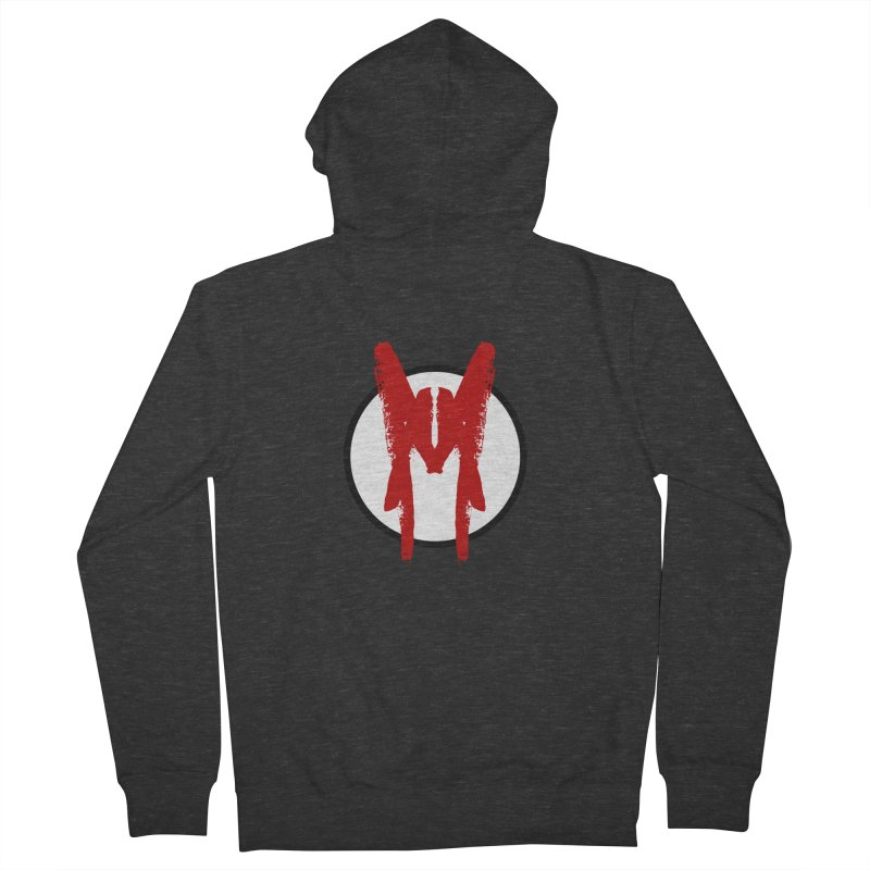 M Symbol Men's French Terry Zip-Up Hoody by Comedyrockgeek 's Artist Shop