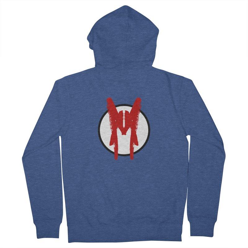 M Symbol Men's French Terry Zip-Up Hoody by Comedyrockgeek 's Artist Shop