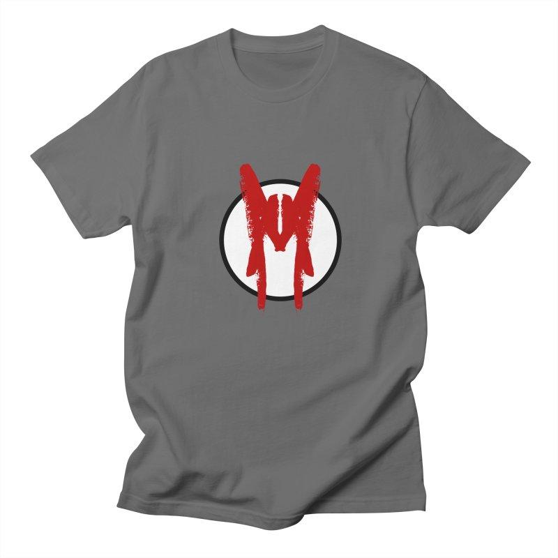 M Symbol Men's Regular T-Shirt by Comedyrockgeek 's Artist Shop