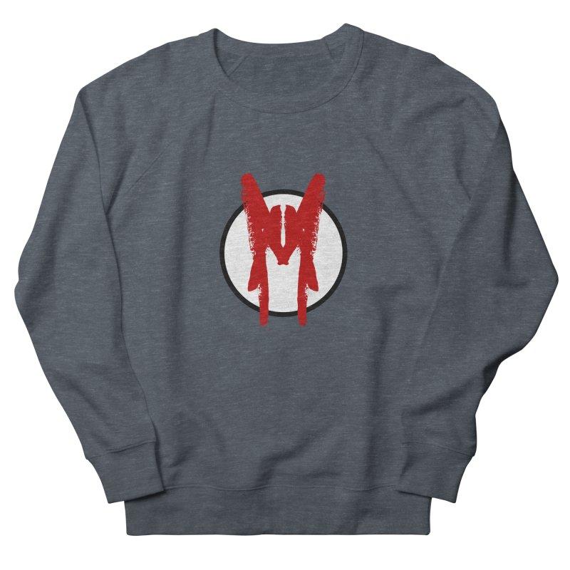 M Symbol Women's French Terry Sweatshirt by Comedyrockgeek 's Artist Shop