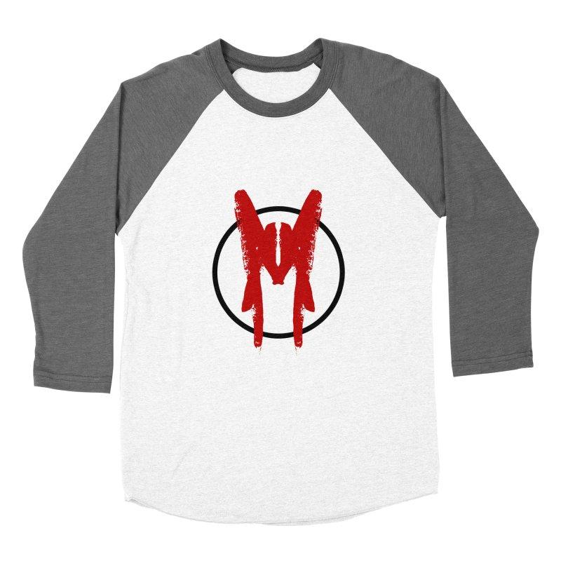 M Symbol Women's Baseball Triblend Longsleeve T-Shirt by Comedyrockgeek 's Artist Shop